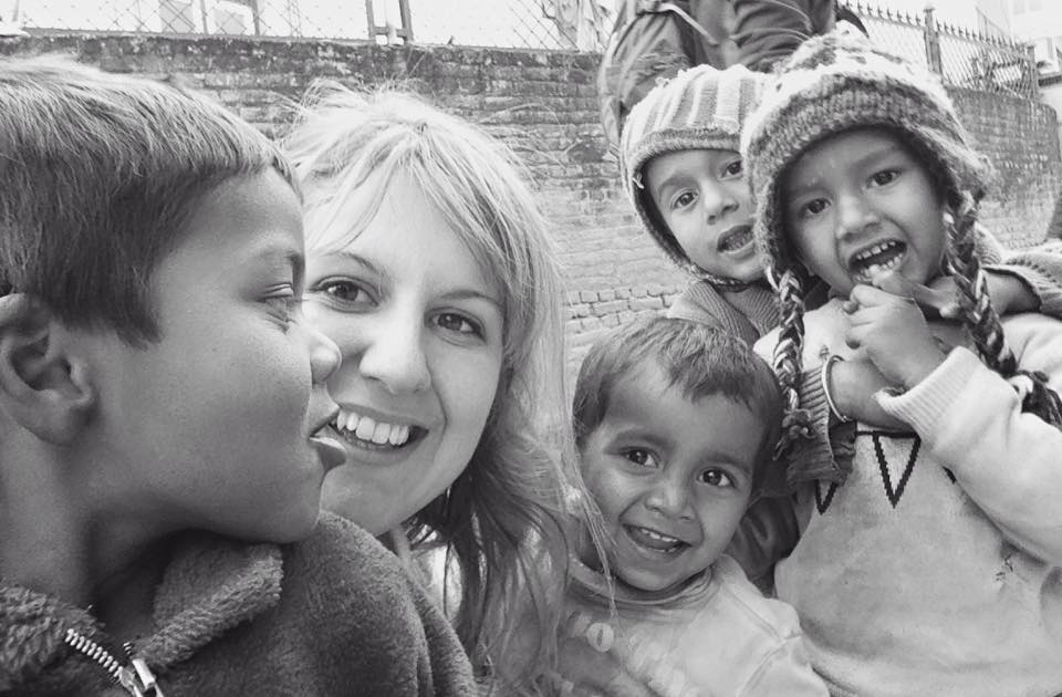 Andreja Nepal children